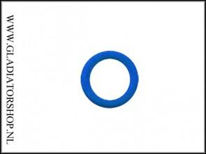 Dye gekleurde Oring BN70-07 blauw