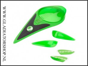 Dye Rotor gekleurde accent kit lime