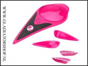 Dye Rotor gekleurde accent kit roze