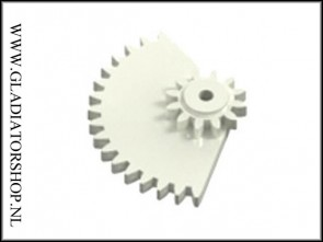 Dye Rotor gear box overdrive cheese gear