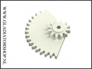 Dye Rotor gear box overdrive cheese gear