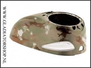 Dye Rotor High Capacity Top Shell Dye Camo