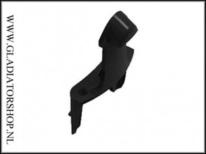 Dye Rotor top shell lock tab