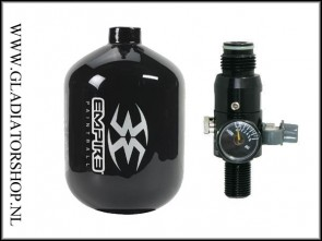 Empire Ultra carbon 0,8 liter (0,8L) inclusief regulator