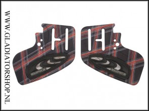 Empire E-Vents ear piece kit Plaid