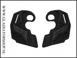 Empire EVS ear pieces zwart
