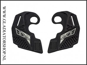 Empire EVS ear pieces zwart wit