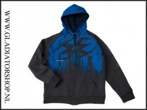 Empire hoodie ZE Splash blue maat XL