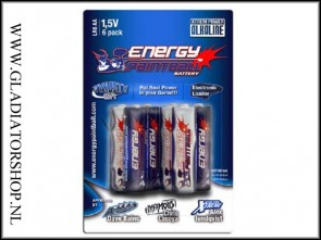 Energy Paintball AA penlite 6 pack