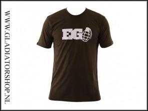 Enola Gaye Grenade T-shirt Olive