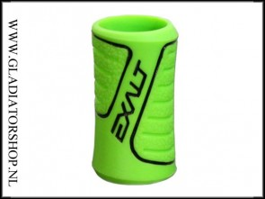 Exalt rubber regulator grip lime groen zwart