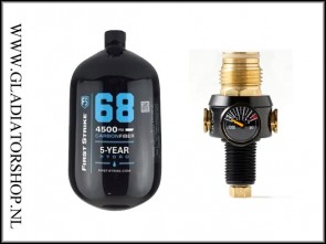 First Strike Hero system 1,1liter (1,1L)  inclusief regulator.
