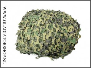 Fosco camouflage net outdoor 6m x 3m
