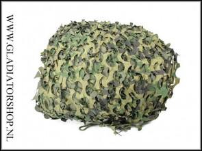 Fosco camouflage net outdoor 6m x 3m