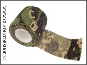 Fosco Industries camo wrap woodland camo