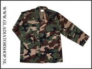 Fostex BDU combat jacket woodland