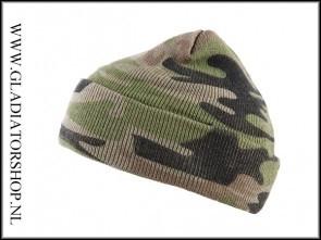 Fostex military watch beanie in diverse kleuren