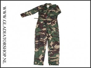 Blue Castle overall woodland camouflage