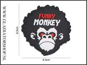 PVC Velcro Patch: Funky Monkey