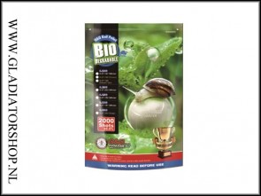 G&G Airsoft Bio 6mm BB's 0.28gr 2000 stuks wit