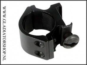 Warrior 25.4mm ring, weaver picatinny mount voor een red-dot of flashlight