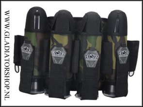 Gen-X 4+0 battlepack woodland camo