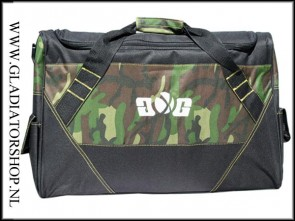 Gen-X-Global Deluxe travel bag woodland camo