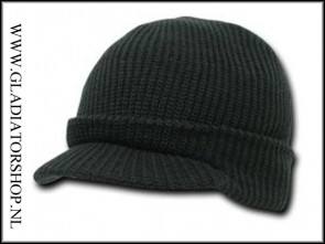Genuine watch jeep cap beanie zwart