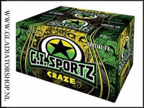 GI Sportz Craze FX 2000 paintballs