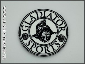 Gladiator Sports PVC velcro patch wit
