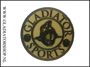 Gladiator Sports rubber velcro patch