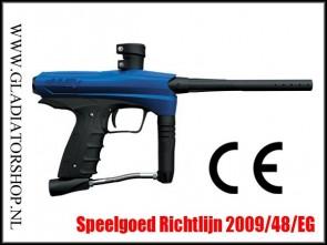 GoG eNMEy cal 0.50 blauw CE Kinderpaintball