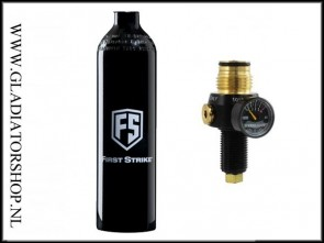 First Strike 0,4L 200 bar fles inclusief FS Hero regulator