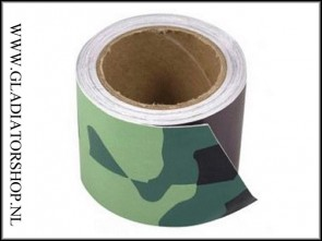 Highlander PVC camo tape woodland camo
