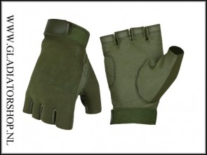 Invader Gear half finger gloves olive