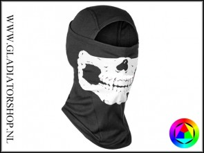 Invader Gear MPs Death Head Ninja Balaclava