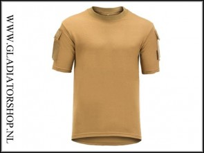 Invader Gear Tactical Tee Coyote pocket T-shirt