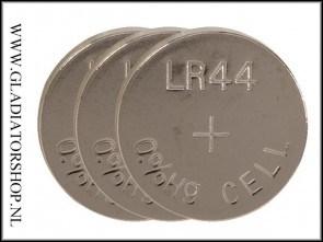 LR44 Knoopcell Batterij 3-pack
