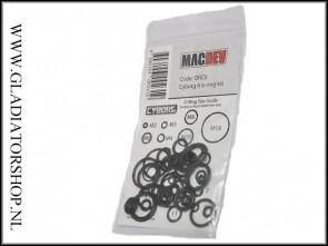 Macdev Oring kit zwart MacDev Clone 5