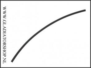 Macroline 30 cm zwart