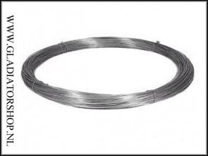 Metalen spandraad op rol van 350 meter