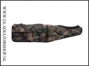 MFH Sniper tas groot woodland camo