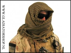 Military shemagh sniper scarf in diverse kleuren