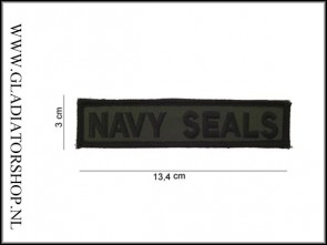 Opstrijk Patch Stof: Navy Seals