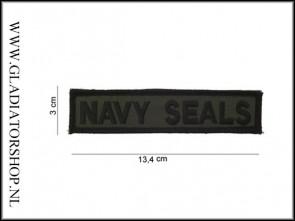 Opstrijk Patch Stof: Navy Seals