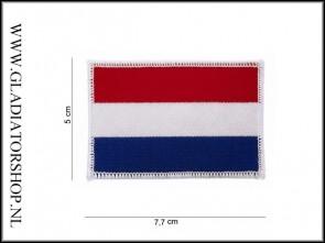 Opstrijk Patch Stof: Nederlandse Vlag