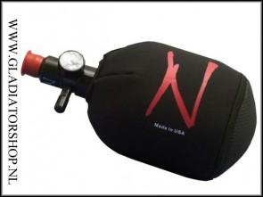 Ninja neopreen bottlecover zwart 48ci