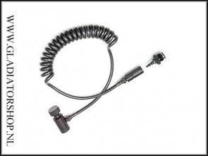 Ninja remote coiled hose met PTC