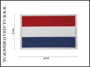 (O) PVC Velcro Patch: Nederlandse Vlag Groot