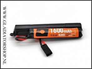 Nuprol NiMH Airsoft 8,4v 1600mAh batterij